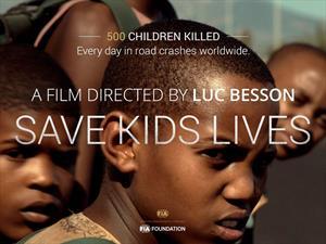 Luc Besson y la FIA impulsan la seguridad vial infantil