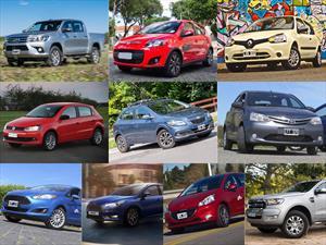 Top 10 los autos más vendidos de Argentina en julio de 2016