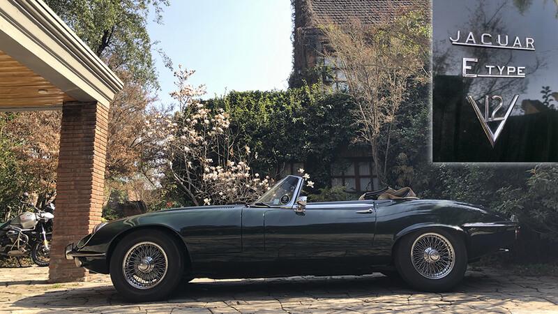 Manejamos el Jaguar E-Type Series 3 de 1972