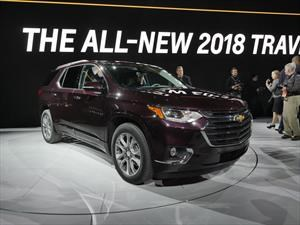 Chevrolet Traverse 2018 debuta