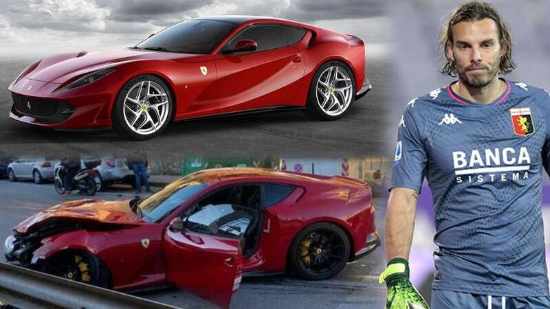 ¡Insólito!: dejó su Ferrari en el lavadero y se lo destrozaron