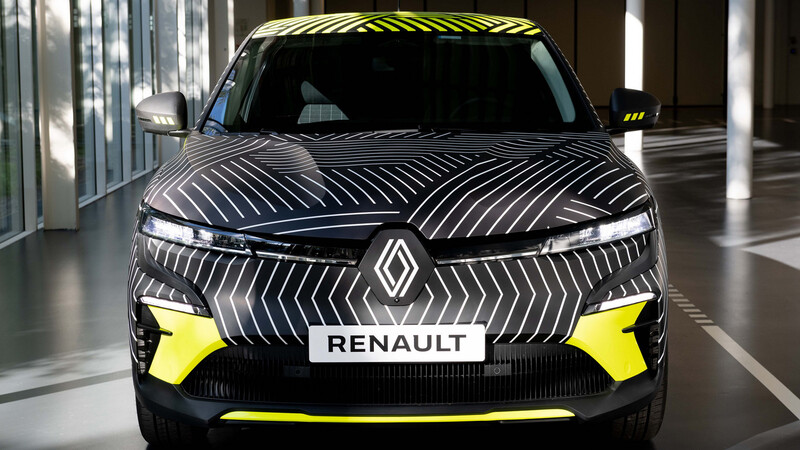 Renault Megane E-Tech EV ya se muestra en fase de pruebas