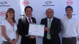 BYD Auto premiado por aporte al cuidado del medioambiente
