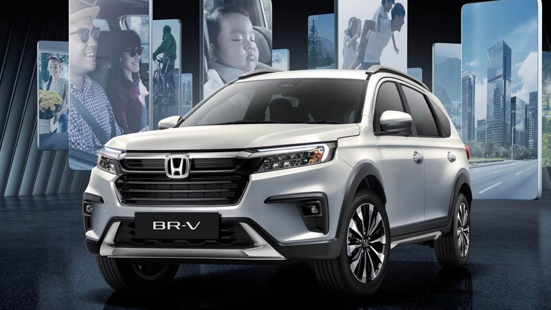 Honda BR-V 2022 ve la luz en Indonesia