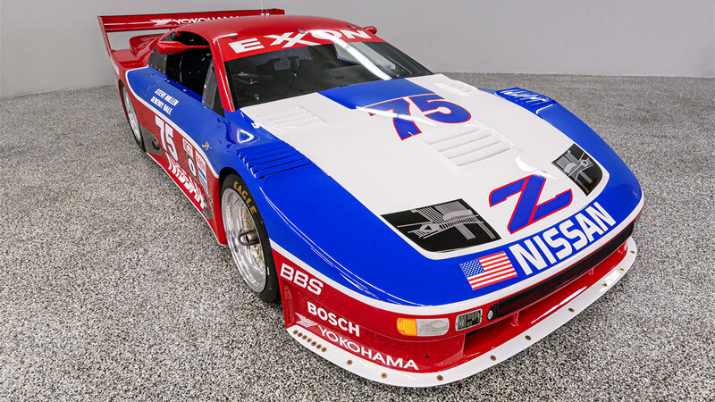 Corredor famoso busca hogar: un Nissan 300 ZX Twin Turbo IMSA GTO sale a la venta