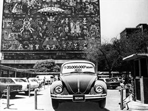 Volkswagen celebra 50 años en México