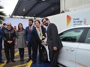 CGE inaugura su primer punto de carga para autos eléctricos en Antofagasta