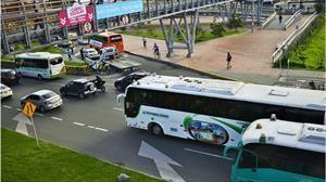 Buen balance por uso del carril preferencial de rutas escolares en Bogotá