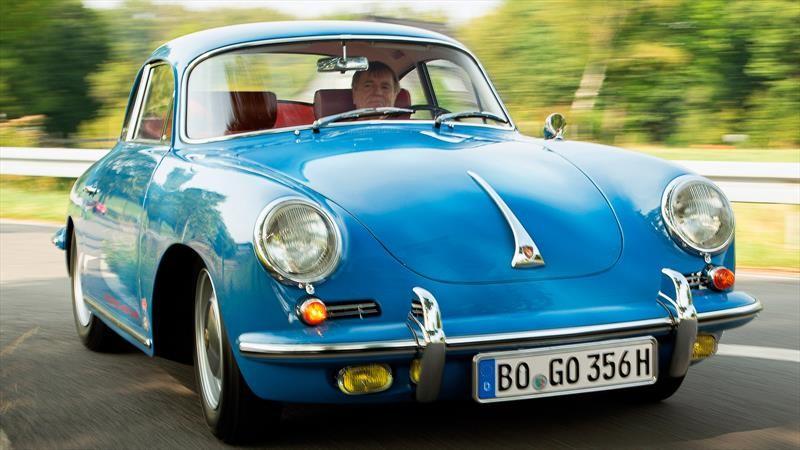 Porsche 356 C olvidado por más de 40 años volvió al ruedo