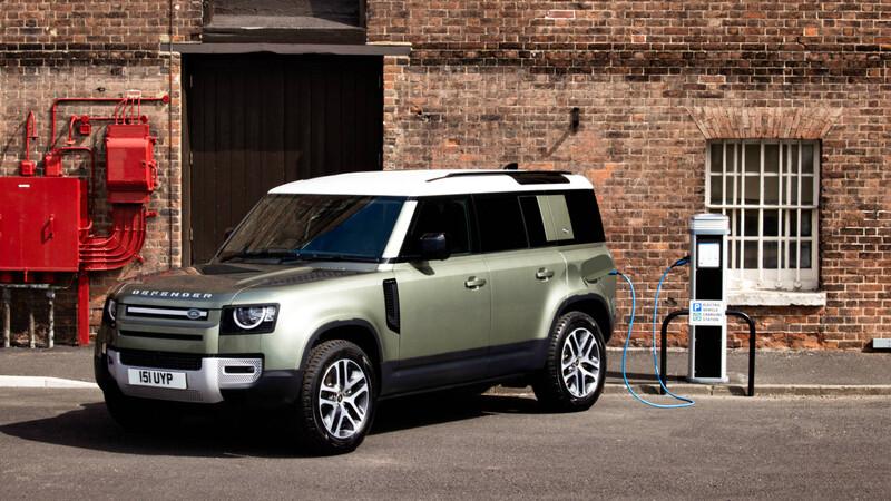 Land Rover Defender PHEV, el 4x4 también será un híbrido conectable