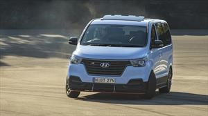 Preparan una van Hyundai H1 para hacer drifting