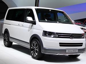 Volkswagen Multivan Alltrack Concept,  se presenta en Ginebra