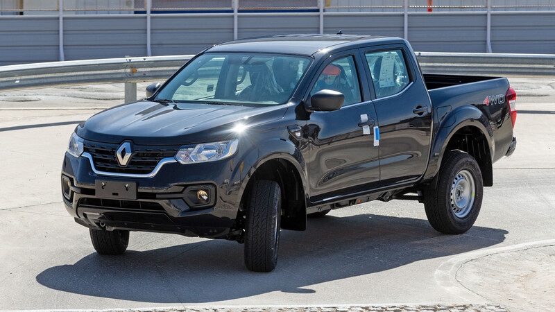 Renault ya está fabricando la pick-up Alaskan en Argentina
