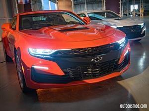 Chevrolet Camaro 2019 en Chile, completamente agresivo