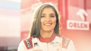 Tatiana Calderón continúa como piloto de pruebas de Alfa Romeo Racing Orlen