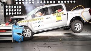 Nissan Frontier recibe 4 estrellas en pruebas de impacto de Latin NCAP