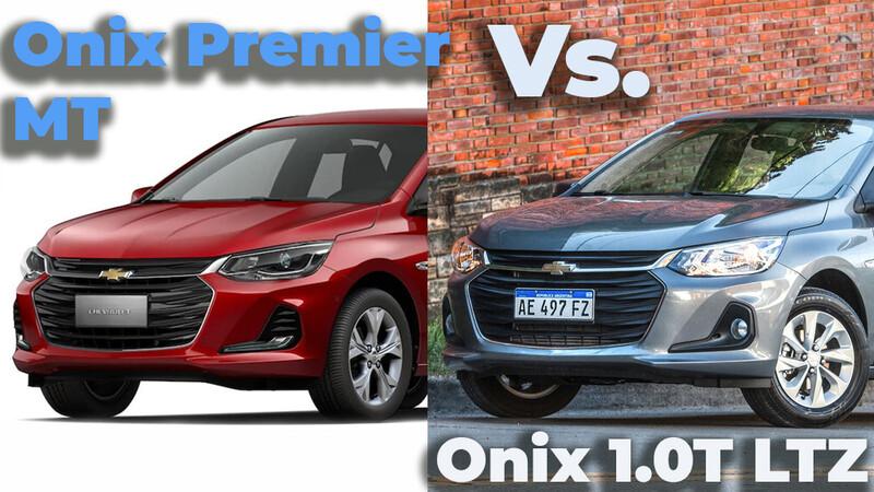 Chevrolet Onix Premier 1.0T MT a Onix LTZ 1.0T manual ¿Qué diferencias hay?
