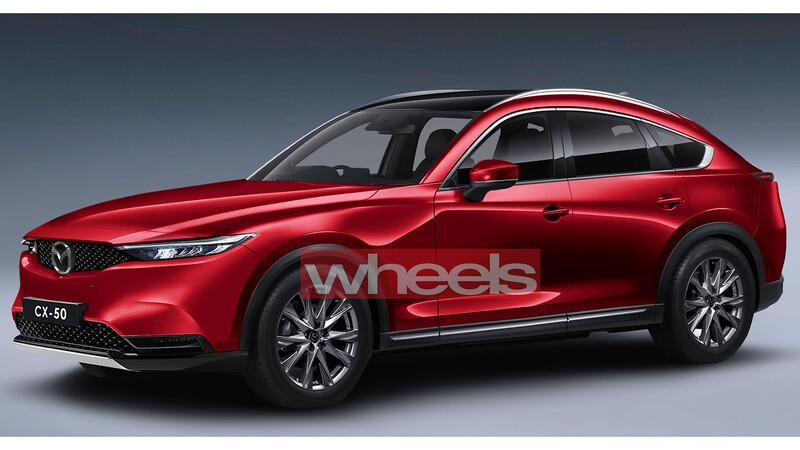 ¿Mazda CX-50 2022? seis en línea longitudinal, tracción trasera, plug-in hybrid, etc
