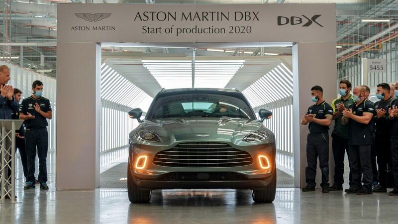 Aston Martin inicia de manera oficial la producción del DBX