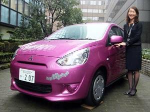Mitsubishi Mirage Hello Kitty Edition exclusivamente para Japón