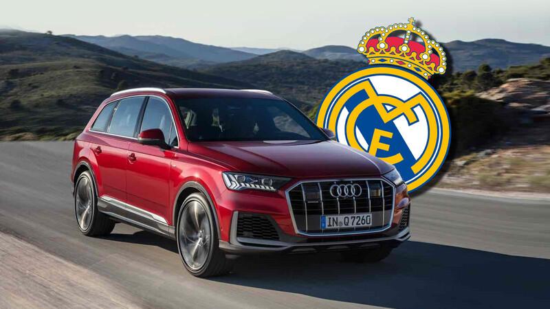 El plantel del Real Madrid prefiere los Audi a combustión