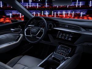 Este es el interior del Audi E-Tron
