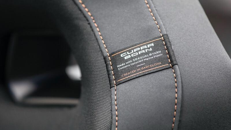CUPRA Born tendrá asientos sustentables creados a partir de material reciclado