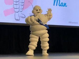 El Bibendum de Michelin es galardonado por su antigüedad