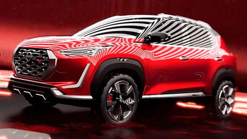 Nissan adelanta el interior del Magnite, su próxima SUV pequeña