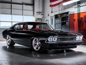 Chevrolet Chevelle Slammer Concept, un muscle car de los 60 modernizado