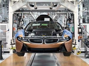 BMW i8 Roadster 2019  inicia producción en serie