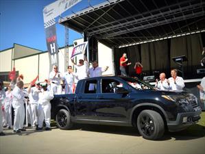 Las primeras unidades de la Honda Ridgeline 2017 salen de producción