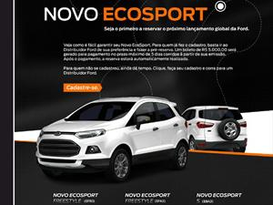 Nueva Ford EcoSport: ya se lanzó la preventa en Brasil