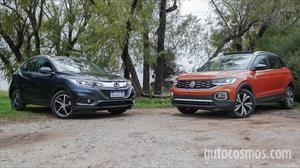 Test comparativo Honda HR-V vs. VW T-Cross: ¿Quién es el jefe?