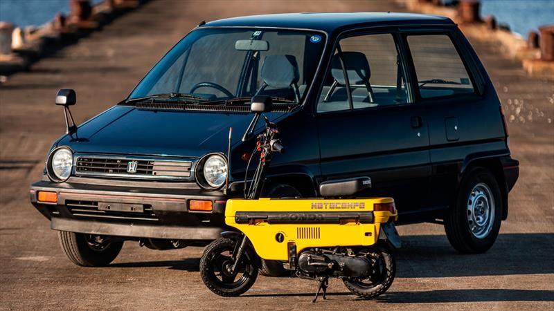 Honda City y Motocompo el mejor combo de los ochenta a subasta