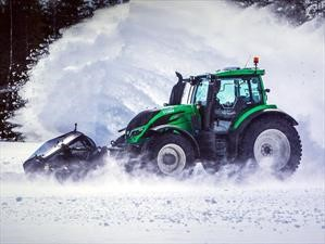 La conducción autónoma también es aplicada en los tractores