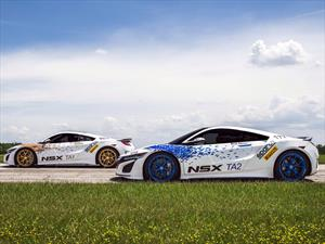 Acura NSX 2017 listo para el Pikes Peak International Hill Climb 2016