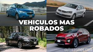 Los vehículos más robados de noviembre 2018 a octubre 2019 en México