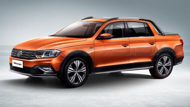 Así podría verse la nueva Volkswagen Saveiro