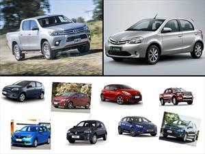 Los 10 autos más vendidos en Argentina en Noviembre de 2016