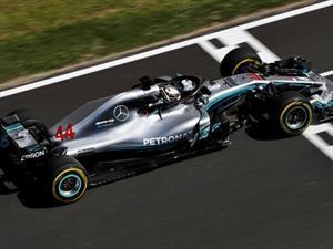 Hamilton y Mercedes ganan el GP de España 2018