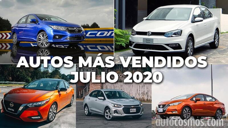 Los 10 autos más vendidos en julio 2020