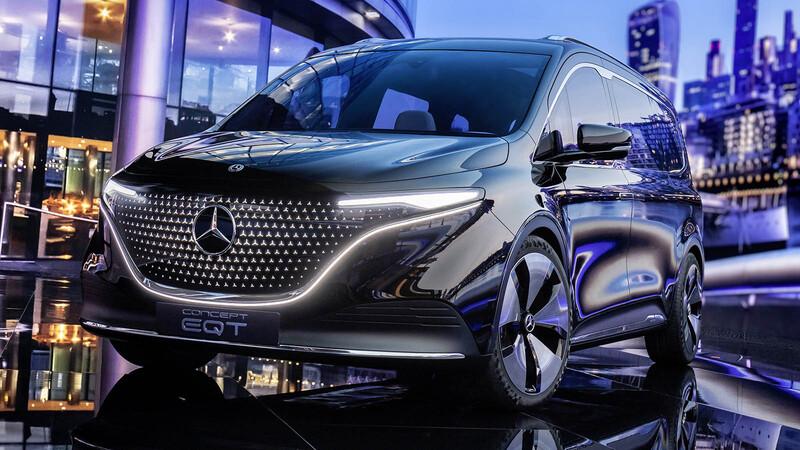 Mercedes-Benz Concept EQT, una lujosa van eléctrica