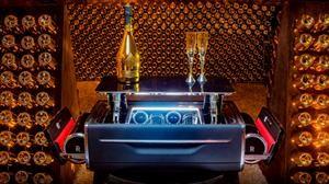 Una copa de champagne al estilo Rolls-Royce