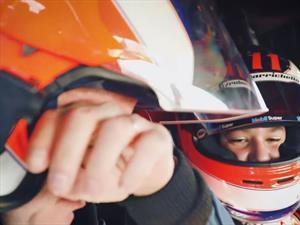 Rubens Barrichello se convierte en copiloto de su hijo