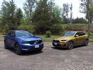 BMW X2 2018 vs Volvo XC40 2019