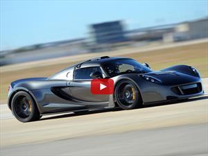 Hennessey Venom GT es otra vez el auto más rápido del mundo