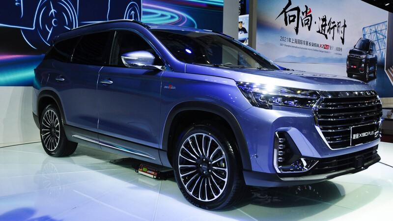 Shanghai 2021: el Jetour X90 Plus estrena motor 2.0 Turbo