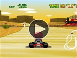 Récord en Mario Kart gracias a la conducción autónoma