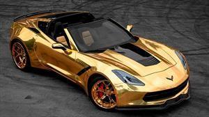 Este Chevrolet Corvette recibió el toque del Rey Midas